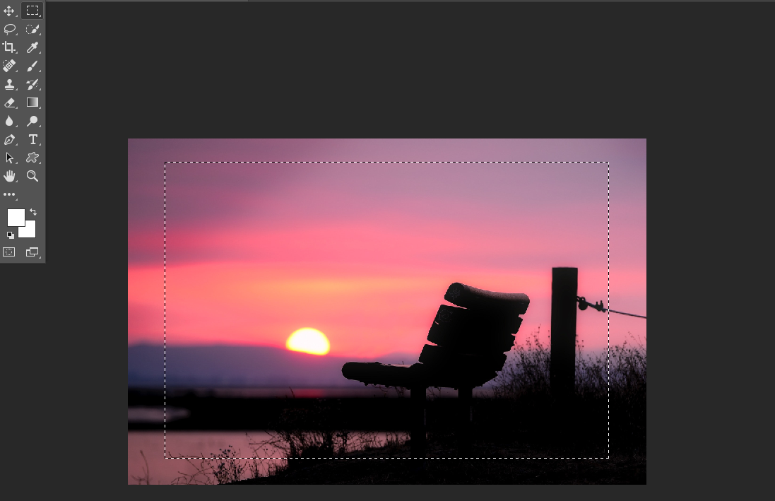 Cropping A Layer With The Delete Method