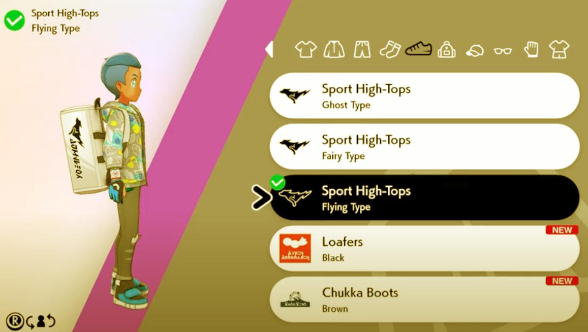Change Uniform in Pokemon Sword and Shield