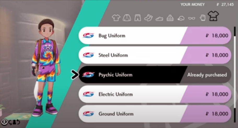 How to Change Uniform in Pokemon Sword and Shield
