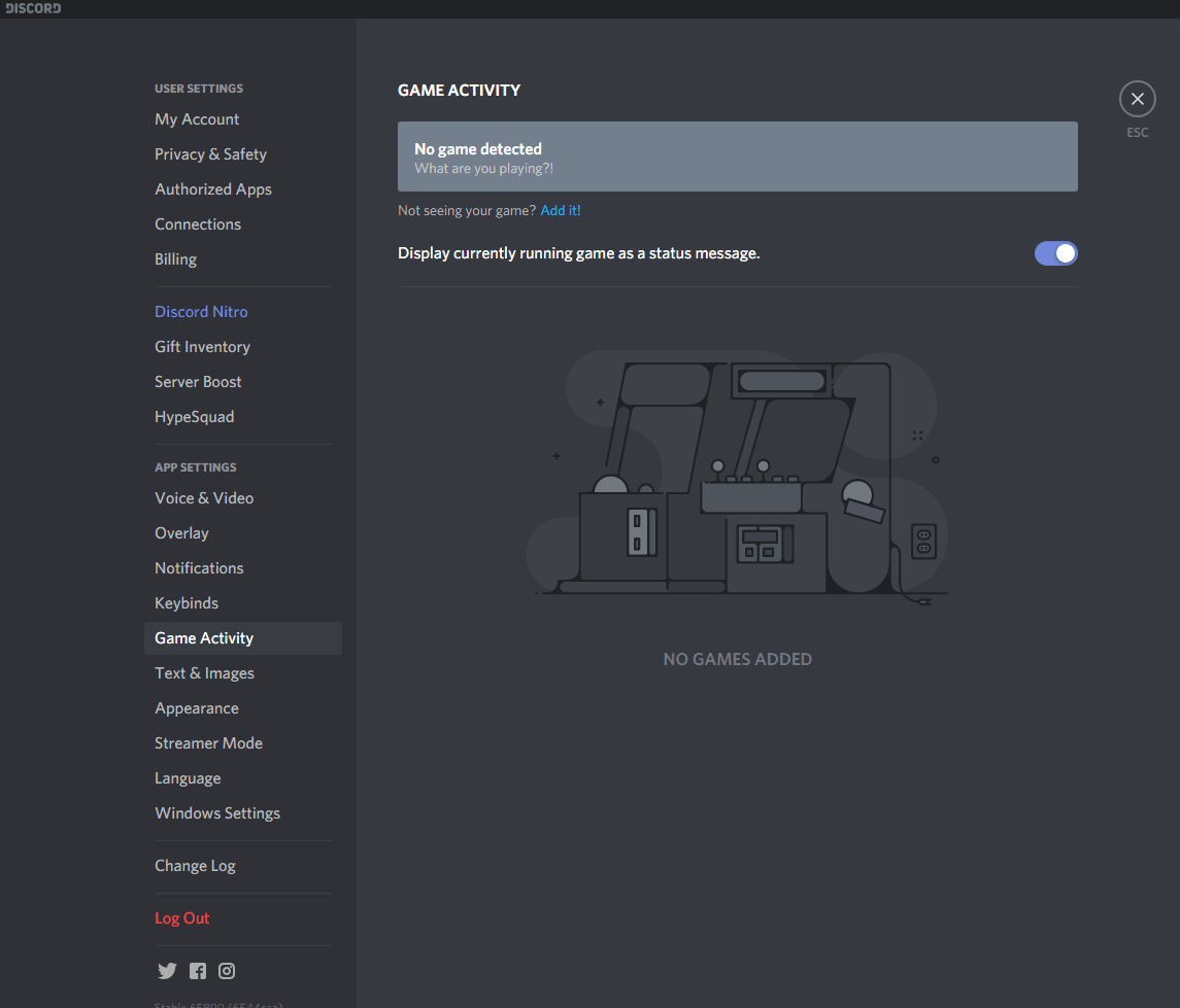 Manually Change your Game Status in Discord-min