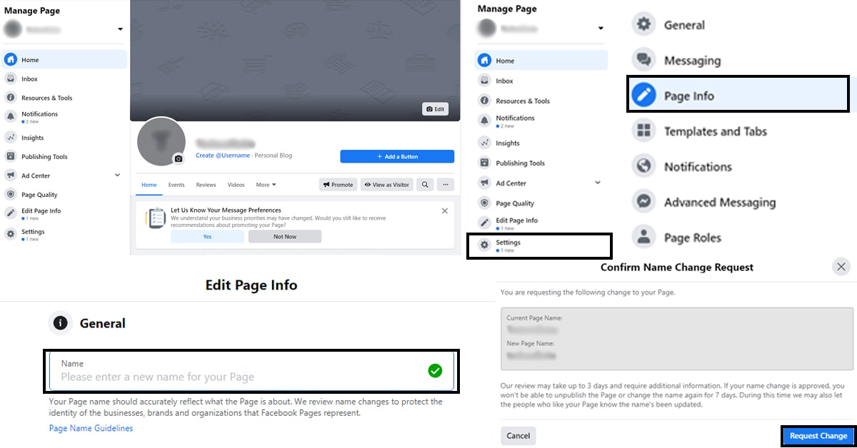 5 Steps to Change Your Facebook Page Name