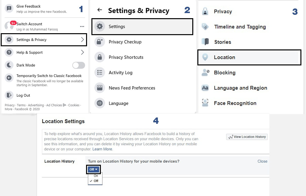 How to Turn Off Location on Facebook
