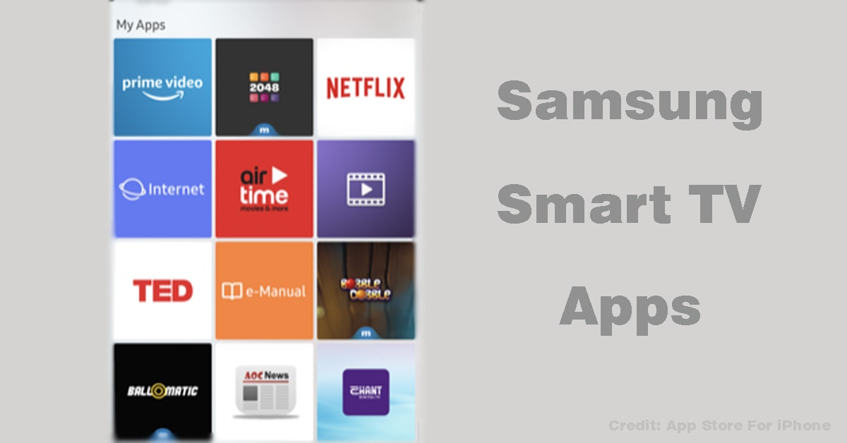 How to Update Samsung Smart TV Apps